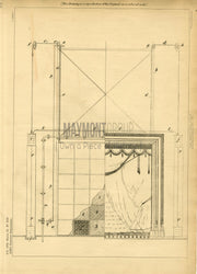 Gate post Lee Original Patent Lithograph 1888