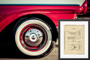 Vehicle Spring Daimler Benz Original Patent Lithograph 1932
