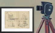 Photo Camera Kodak Limited Original Patent Lithograph 1933