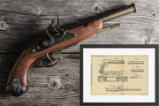 Signal Firearm Ammunition Louis Labadie Driggs Original Patent Lithograph 1932