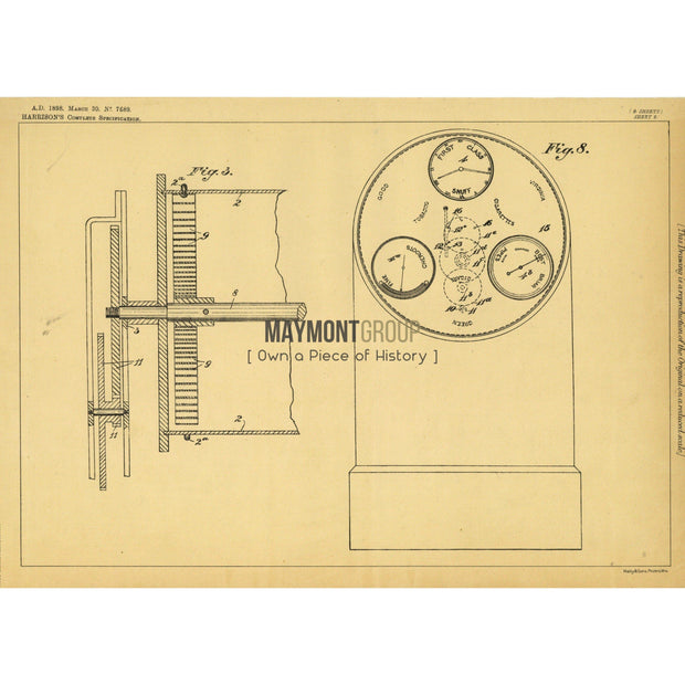 Advertising Documents | 1898 | Patent No. 7689-United States Patent Office-Maymont Patent Group