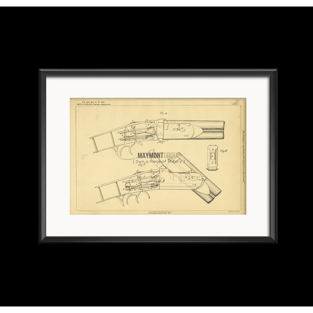 Firearm | 1888 | Patent No. 11560-United States Patent Office-Maymont Patent Group