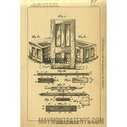 Furniture | 1889 | Patent No. 11114-United States Patent Office-Maymont Patent Group