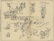 Typewriter Letter Spacing Remington Typewriter Company Original Patent Lithograph 1933