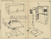 Loud Speakers British Thomson Houston Co. LTD Original Patent Lithograph 1932