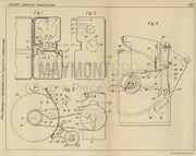 Photographic Apparatus Kodak Limited Original Patent Lithograph 1932