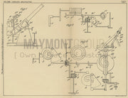 Sighting Apparatus for Firearm Vickers-Armstrongs Limited Original Patent Lithograph 1932