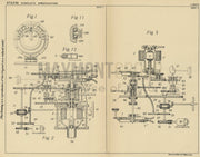 Dirigible Craft Steering Sperry Gyroscope Company Inc. Original Patent Lithograph 1932