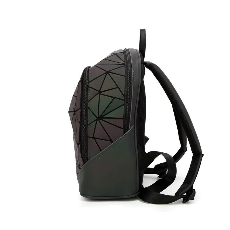 Geometric Luminous Backpack Side