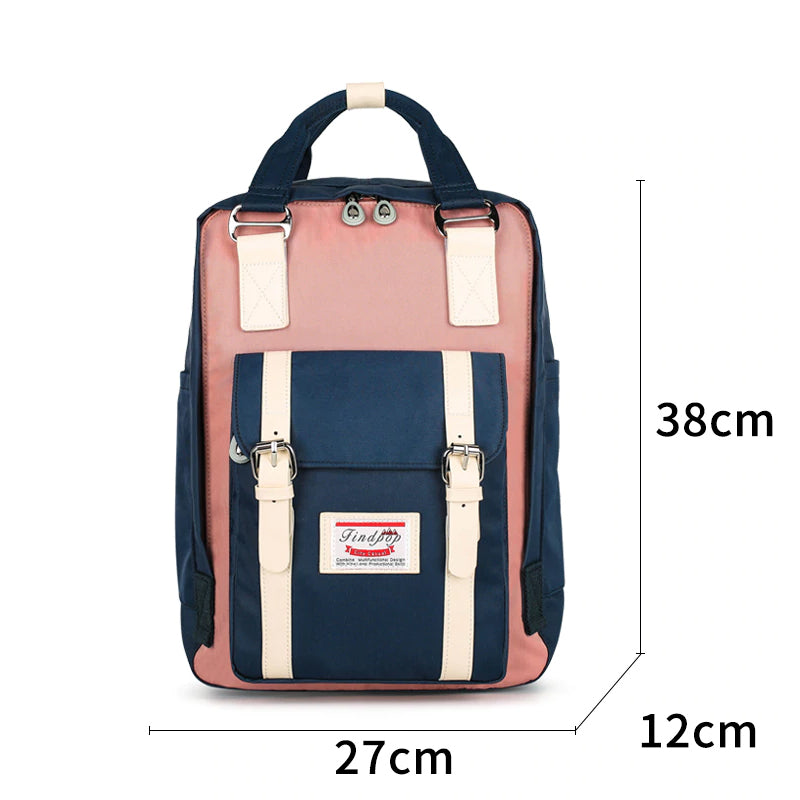 Women's Large Capacity Canvas Vintage Backpack