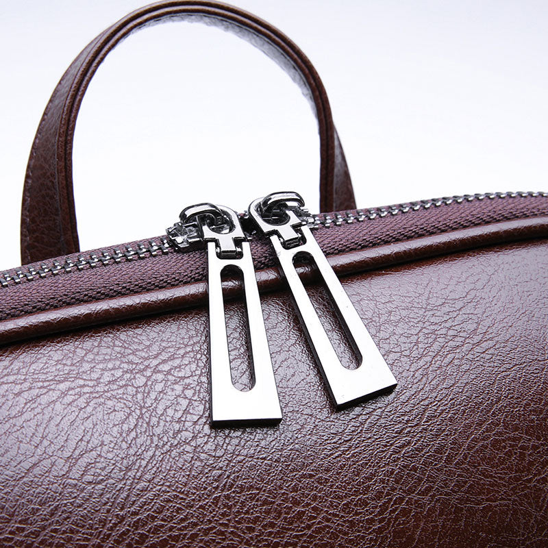 Women's Mini Bag Zipper Close-Up