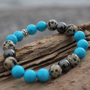 Moving on with Feet Dancing Wrist Mala