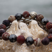 Load image into Gallery viewer, Planetary Traveller crystal wrist mala bracelet