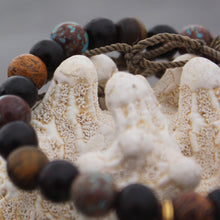 Load image into Gallery viewer, Wrist mala with cobra jasper detail