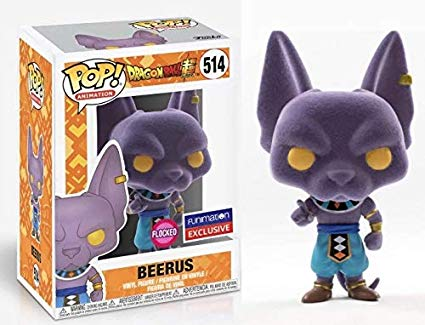 POP! DBZ Funimation Flocked Beerus