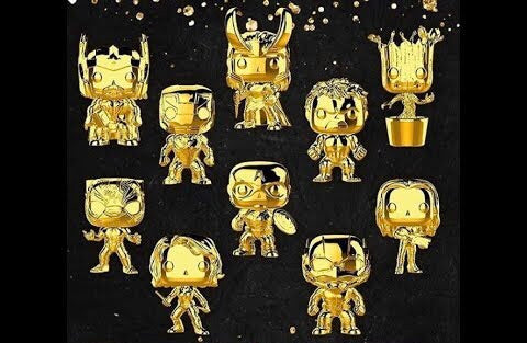 POP! Marvel Chrome