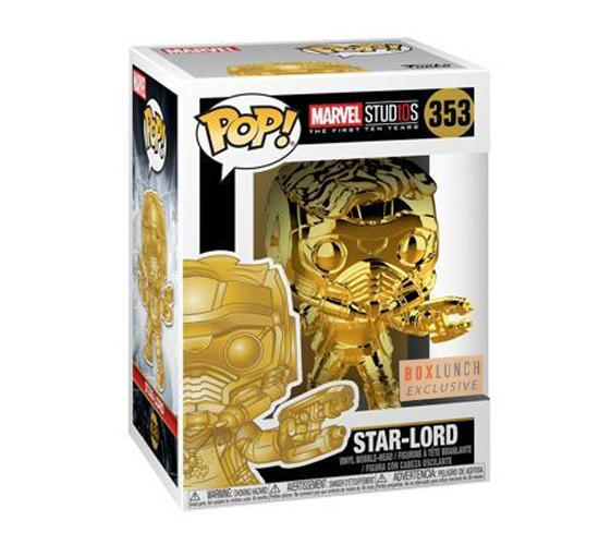BoxLunch Exclusive Marvel Studios Chrome Star Lord