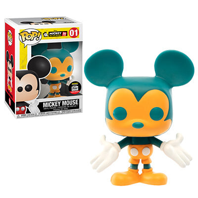 POP! Funko Shop Teal & Orange Mickey
