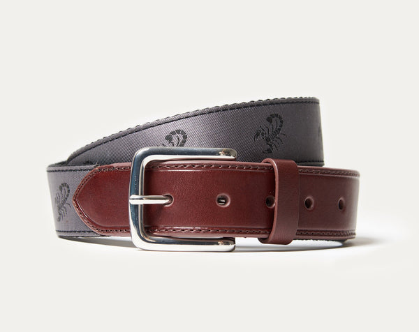 Curtis Silk Belt