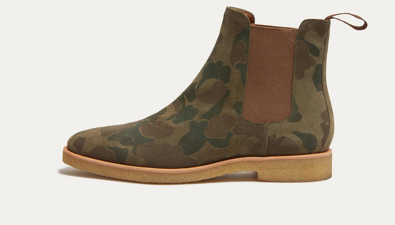 Houston Suede Chelsea Boot
