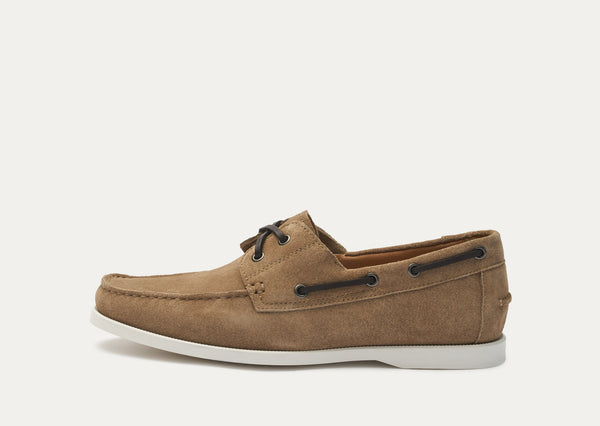 Baldwin Suede Boat Shoe - Dirty Buck
