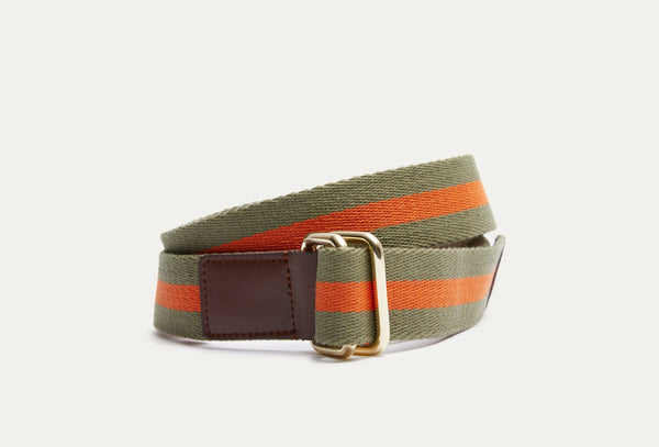Redford Striped Belt
