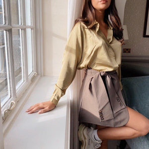 Rowan Skirt Brown