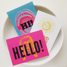 Greetings Postcards - Hi