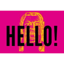Greetings Postcards - Hello