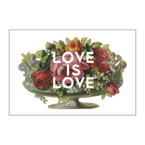 Love - Love Is Love Postcard