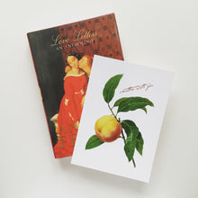 Love - Peach Postcard
