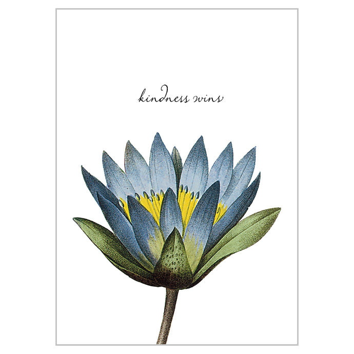 Botanical Postcards - Kindness Wins