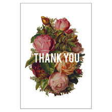 Bouquet Thank You Postcard