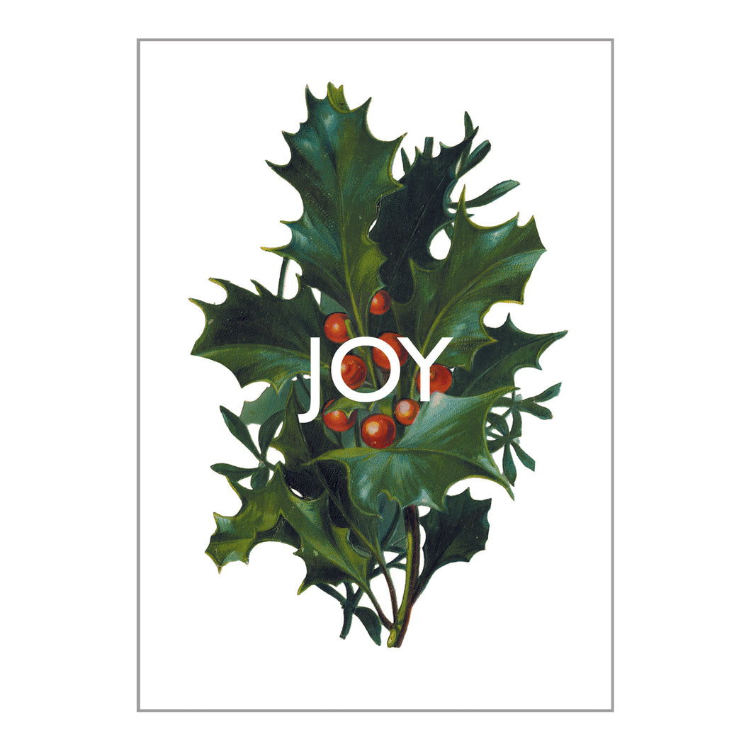 Holiday Greeting Cards - Joy
