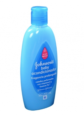 Acondicionador Johnson's Fragancia prolongada (Azul) 200ml