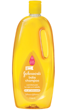Shampoo Johnson's Amarillo 750 ml