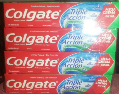 Colgate Triple Accion 60ml x 12