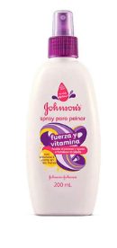 Spray Johnson's para peinar fuerza y vitamina 200ml