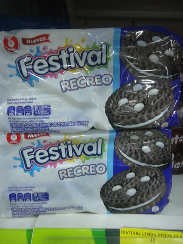 Galleta Festival Recreo 12u
