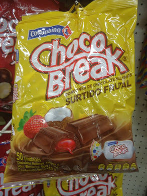 Chocobreak Frutales 50u