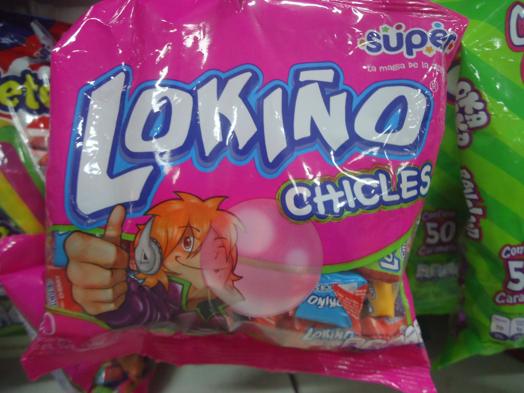 Chicles Lokiño 50u