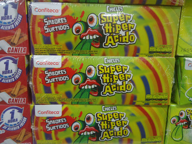 Chicles Super Hiper Acido 70u