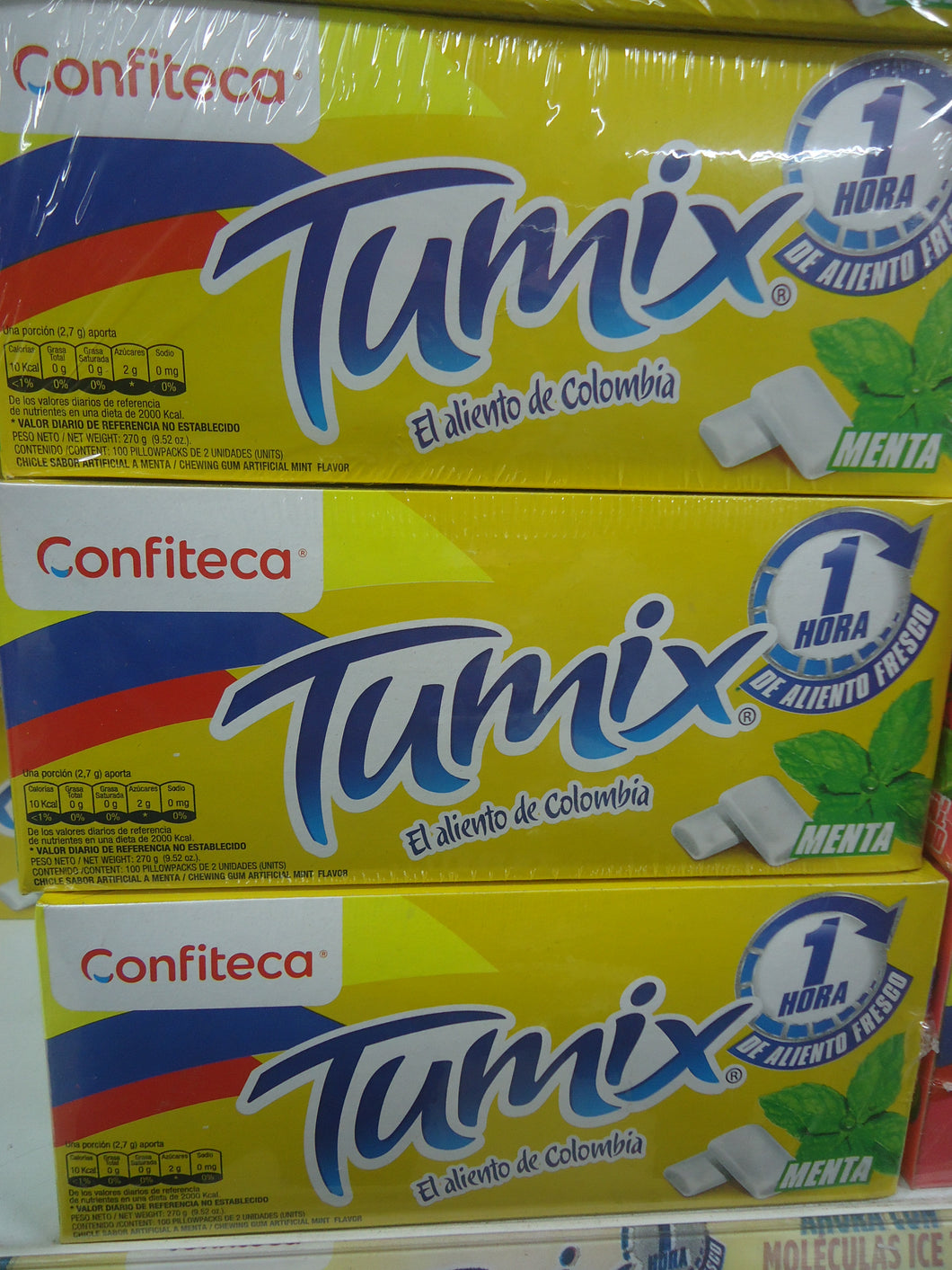 Tumix Chicle 100x24u