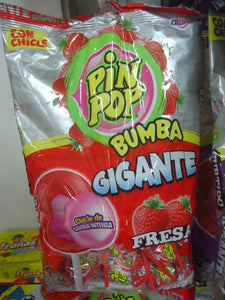 Chupetas Pin Pop Gigante 24u