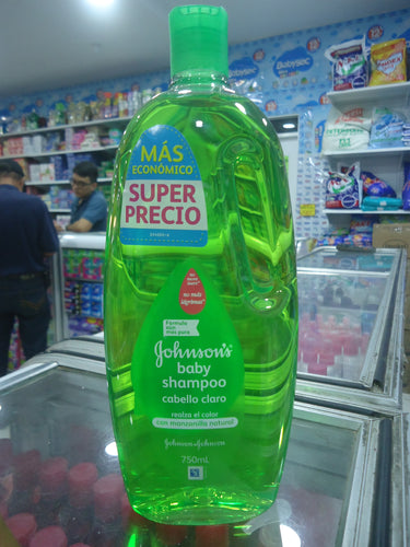 Shampoo Johnson's Cabello Claro 750 ml