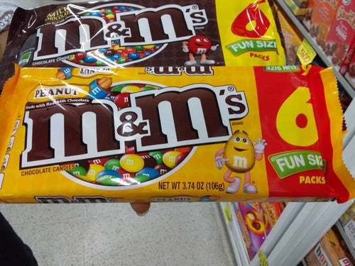 Chocolate M&M Packx6