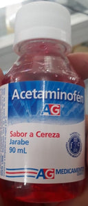 Acetaminofen pediatrico jarabe sabor cereza 90ml