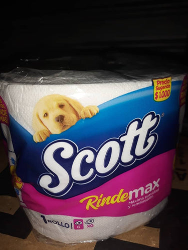 Papel Scott 24 rollos