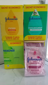 Shampoo Johnson's Sobre de 25ml