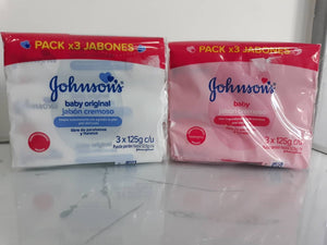 Jabon Johnson's Tripack